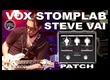 VOX Stomplab STEVE VAI Distortion Patch [Guitar Tone].