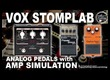 ANALOG DISTORTION + CLEAN AMP SIMULATION VOX STOMPLAB Patch [Direct PC].