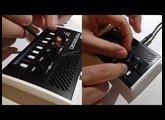 KORG monotron Song (finger & stylus)