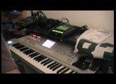 First Beat With Kaossilator Pro (+ Korg M3)
