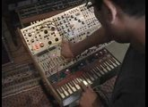 Buchla 200 Modular Synthesizer Patching