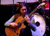 Female guitarist and singer songwriter Christie Lenee - Song For Michael Pukac