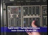 Tapco 4400 Spring Reverb demo