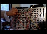 Analogue Systems modular synth rs95e, EMS Filter and EMS Trapezoid