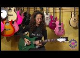 Daisy Rock Girl Guitar's Stardust Elite Rebel Promo Video featuring Ruthie Bram