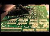 Removing and cleaning the 80017A voice chip in a Juno 106