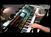 Roland Jupiter 80 Sounds & Demo Video from Musikmesse 2011 Roland Jupiter 80