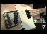 Summer NAMM '11 - Seymour Duncan Zephyr Pickup Demo with Schneider Turquoise Guitar