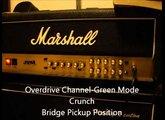 Marshall JVM 205H & Orville Les Paul Custom Demo