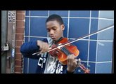 Amazing Young Street Violinist in Philadelphia