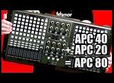Akai APC 80 Do-It-Yourself DIY: How to build the APC 80 from Akai APC 40 & APC 20