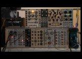 Moogerfooger MF107 FreqBox & Eurorack modular synth