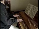 Bach Prelude #2 in C minor from WTCII on a positiv organ
