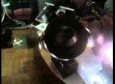 Vintage Disco Lights - Nisel UFO Stratos L