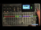 Behringer X32 Digital Console Interface Overview - Sweetwater Sound