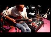 JJ Rébillard PMC Guitars Byblos (electric oud), Bogner XTC, HiWatt, Seymour Duncan