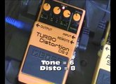 Démo Boss DS-2 Turbo Distortion
