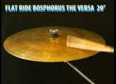 "Bosphorus The Versa flat ride 20"" cymbal"