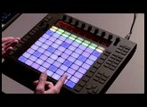 Ableton Push - A new way to play notes and chords