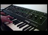 Pointless Noodling on the Moog Opus3