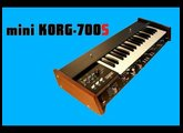 MINIKORG KORG 700S Analog Synthesizer 1974 | HQ DEMO | Mini Korg