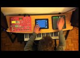 Deadmau5 - Strobe (Ableton and E-SX live set with iPad, Launchpad and SH-201)