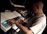 Jordan Rudess playing the Memotron