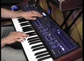 Quick first test... Poly Evolver analog synthesizer