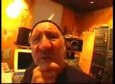 Pete Townshend in de studio 3