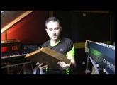 Flancs en bois, panneaux latéraux en bois pour synthétiseurs par Sébastien Desternes