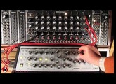 Moog Sub Phatty & Q960 Step Sequencer
