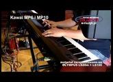 Kawai MP6 i MP10 stage piano demo - Blues nad Bobrem 2012