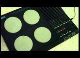 Yamaha DD-5 digital drums/drum machine demo (no circuit-bending)