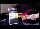 Boss ODB-3 Bass Overdrive demo