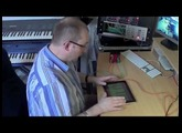 Configuring the KissBox MIDI2TR as an iPad RTP-MIDI wireless interface