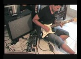 Comfortably Numb - Pink Floyd - (Jam Pedals RED MUCK Crazy lo-fi sound!!!)