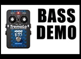 EBS TREMOLO BASS DEMO