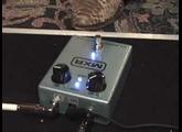 MXR classic 108 Silicon Fuzz pedal demo