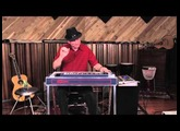 Jay Leach (Roy Orbison) Ditto Looper on Pedal steel