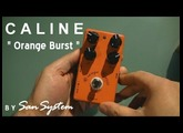 "Guitar Effects - CALINE  "" Orange Burst "" CP-18"