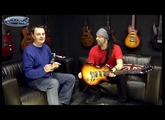 Chappers and The Captain Xplore the Gibson Les Paul X - Exclusive Demo!
