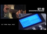 BOSS GT-10 GUITAR FX (5/7)  EZ TONE