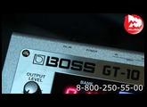 Процессор гитарный BOSS GT10
