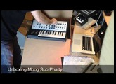 Unboxing MOOG Sub Phatty