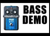 EBS METALDRIVE BASS DEMO