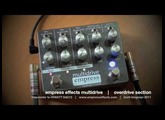 Empress Effects MULTIDRIVE: OVERDRIVE component only demo. Telecaster to HIWATT SA212.