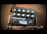 Empress Effects MULTIDRIVE: DISTORTION component only demo. Telecaster to HIWATT SA212.