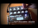 Empress Effects MULTIDRIVE: FUZZ component only demo. Telecaster to HIWATT SA212.