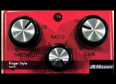 MAXON CP9 PRO+ COMPRESSOR BASS SOUND CLIPS