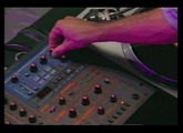 Roland DJ 2000 mixer Demonstration